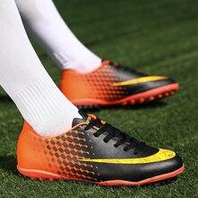 SEGGNICE Soccer Shoes for men Kids indoor football sneakers turf futsal original boots Comfortable Waterproof