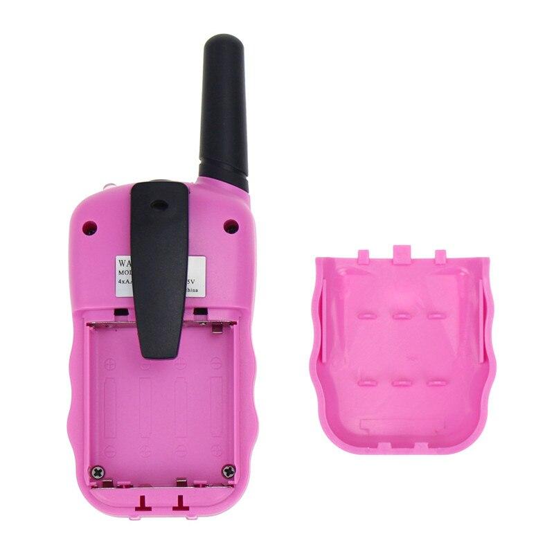 2 pcs set criancas walkie talkie brinquedos 04