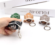 Creative Decompression Artifact Relaxation Vent Toy Squeeze Turtle Key Chain Dou Yin Celebrity Inspired Xinqite Toy