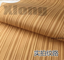 2Pieces/Lot L:2.5Meters Wide:62cm Thickness:0.2mm Technology Teak Wood Veneer