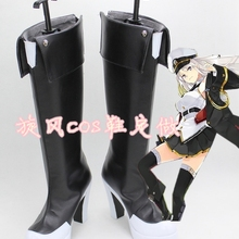 Boots Enterprise Cosplay-Costume Anime Azur Lane Unisex Women USS Top Shoes Game Gifts