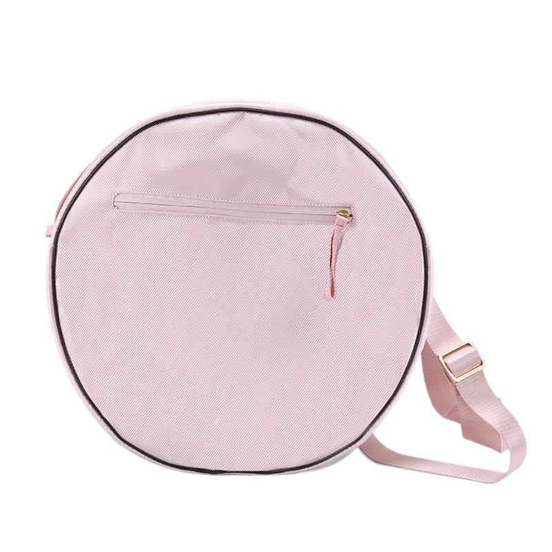Yoga Wheel Bag Double ZipperYoga Circle Bag Large Capacity Double Zipper Pilates Wheel Backpack