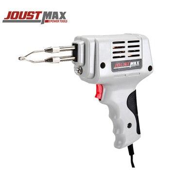 Jostmax multi-function soldering gun holding type double tube soldering iron head heating soldering iron welding repair tool