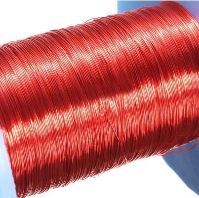 100M Rouge Fil D'aimant 0.2mm QA Émaillé Fil De Cuivre Magnétique D'enroulement de Bobine Pour Machine Électrique bricolage Électro-Aimant Fabrication