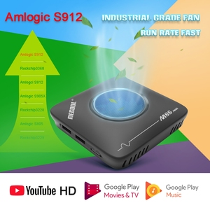 Image 2 - Mecool 3GB 32GB Android TV Box Smart TVbox Amlogic S912 2.4G 5G Wifi Bluetooth Fan Set Top Box 4K Streaming M8S Max Media Player