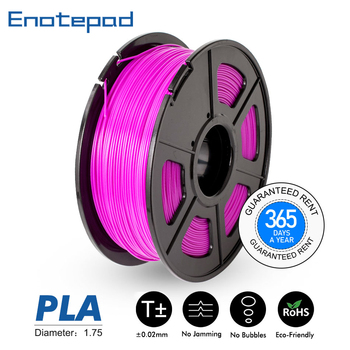 1.75mm 1kg PLA 3D Printer Filament 2.2lbs 1.75 MM Pla Materials With Rohs&reach Certificate 100% no bubble +-0.02MM Tolerance image