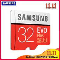 SAMSUNG-tarjeta Microsd Original Clase 10 U3 U1 SDXC, tarjeta de memoria Flash TF, 256G, 128GB, 64GB, 32GB, 100 Mb/s