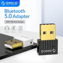 ORICO-adaptador Dongle USB Bluetooth 4,0 5,0 para PC, altavoz, ratón, portátil, Mini transmisor receptor de Audio inalámbrico Bluetooth