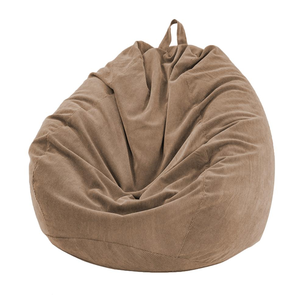 Lazy BeanBag Sofas Cover Chairs without Filler Soft Removable Corduroy Lounger Seat Bean Bag Pouf Puff Couch Tatami Living Room 1