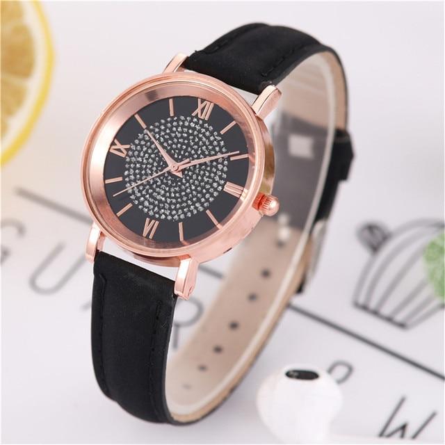 Fashion Women's Luxury Watches Quartz Watch Stainless Steel Dial Casual Bracele Quartz Wrist Watch Clock Gift Outdoor #40 5