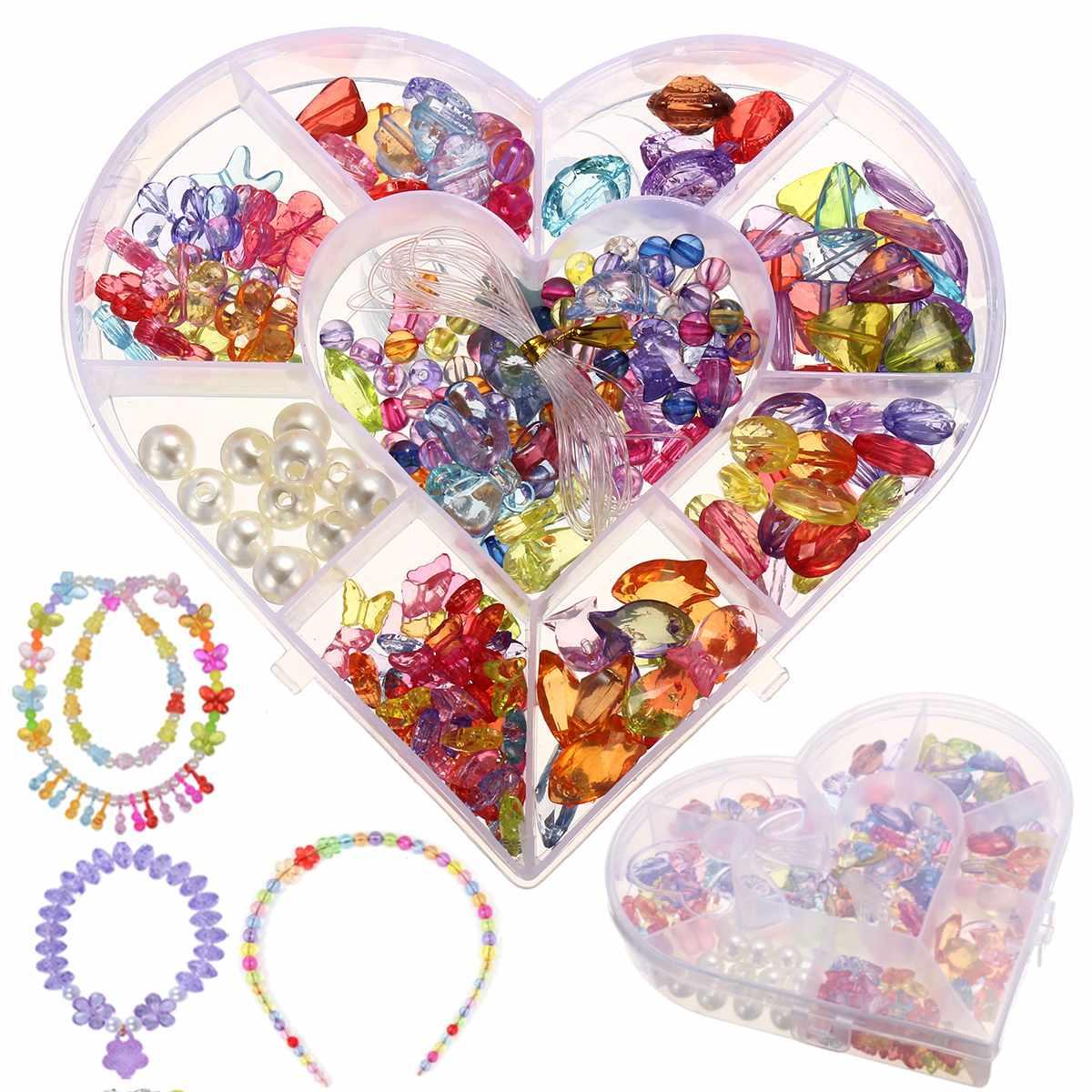 Crystal Series DIY Craft Beads Kit For Girls Kids Birthday Gift Educational Toy