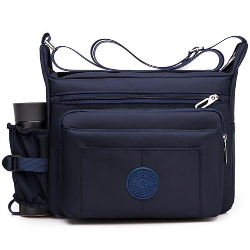 Men Nylon Crossbody Bags Travel Luxury Tote Handbag Messenger Bag Male Satchel Pack Shoulder Bag