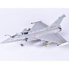 Nouvelle offre spéciale 1/72 alliage coulée français Rafale Fighter maison affichage Collection jouet cadeau de noël livraison gratuite