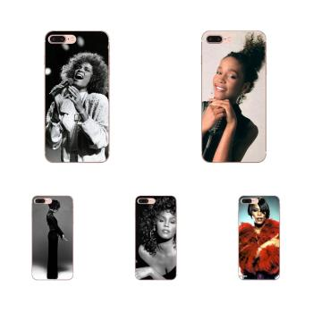 For Samsung Galaxy Note 8 9 10 Pro S4 S5 S6 S7 S8 S9 S10 S11 S11E S20 Edge Plus Ultra TPU Cell Phone Sexy Singer Whitney Houston image