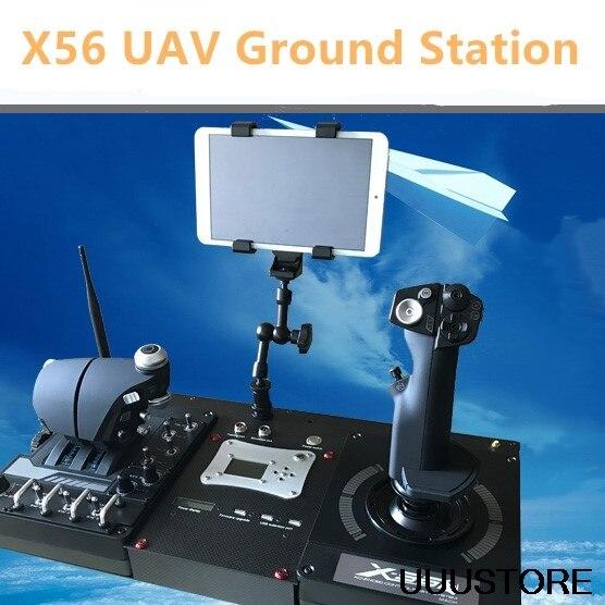 Nouveau Windbox aéronef sans pilote (UAV) Station au sol X56 Station de contrôle vidéo Audio pour télécommande de Drone RC