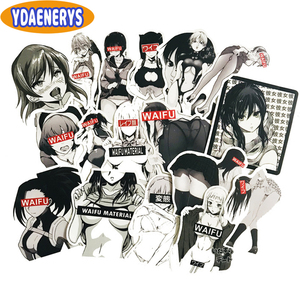 30Pcs Pack Hentai Waifu Anime Sticker Sexy Girl Material Vinyl Decal for Laptop Car Suitcase Styling Home Deocr Sticker Toys