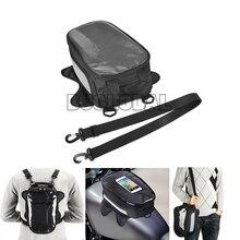 цена на Motorcycle Tank Bag Motorbike Oil Fuel Tank Bag Motorbike Tank Bike Saddle Bag Motorcycle Bag Big Screen For phone / GPS