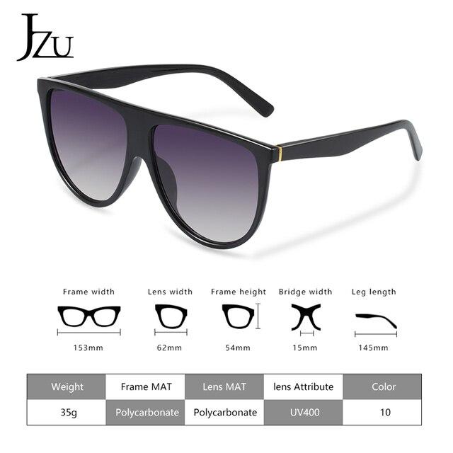Kim Kardashian sunglasses women vintage retro flat top Shadow oversized square sunglasses luxury brand large shades sun glasses 5