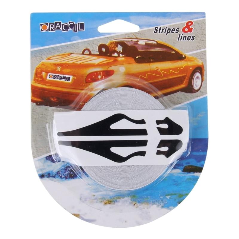 Car Body Striping Decal Pin Stripe Steamline Tape Sticker Double Line QL