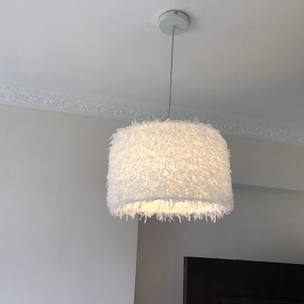 Image 3 - Durable Feather Ceiling Light Modern Hanging Lamp for Bedroom/Living Room/Bathroom Chandelier 4 Types Style Ceiling LampPendant Lights   -