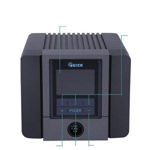 Image 4 - SCHNELL TS1200A Intelligente Hot Air Rework Station Für Telefon PCB Löten Reparatur