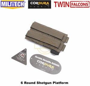 Image 5 - MILITECH twinfalcon TW 500D Delustered Cordura Molle 6 патронов бак дробовик платформа патронташ сумка эластичная лента патронташ