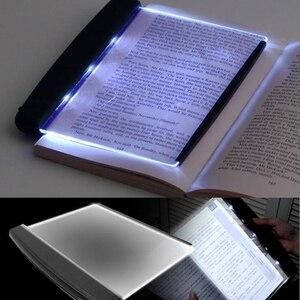 Светодиодный ночник-книжка, защитный светильник, клиновидная световая панель для чтения светильник, панель, плоская пластина, портативный ...