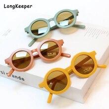 Kids Sunglasses Eyewear Shades Cool Uv-Protection Fashion Girl Round Children Gafas Lentes-De-Sol