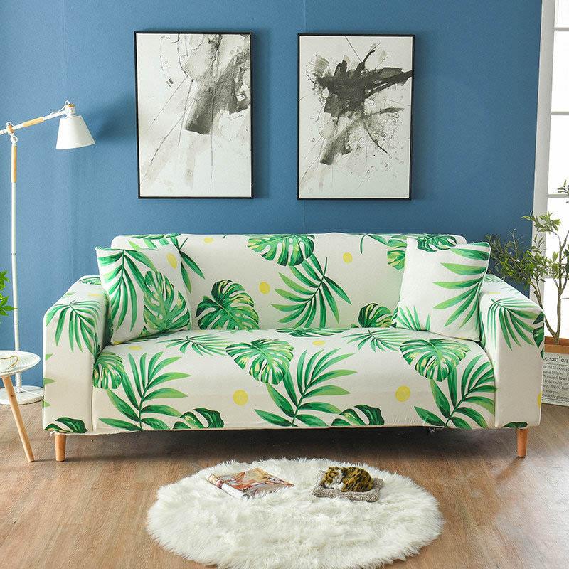 Стрейч с цветочным принтом чехлы для диванов эластичные мебель