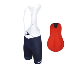 Darevie blue bike bib shorts special type outdoor cycling with padding