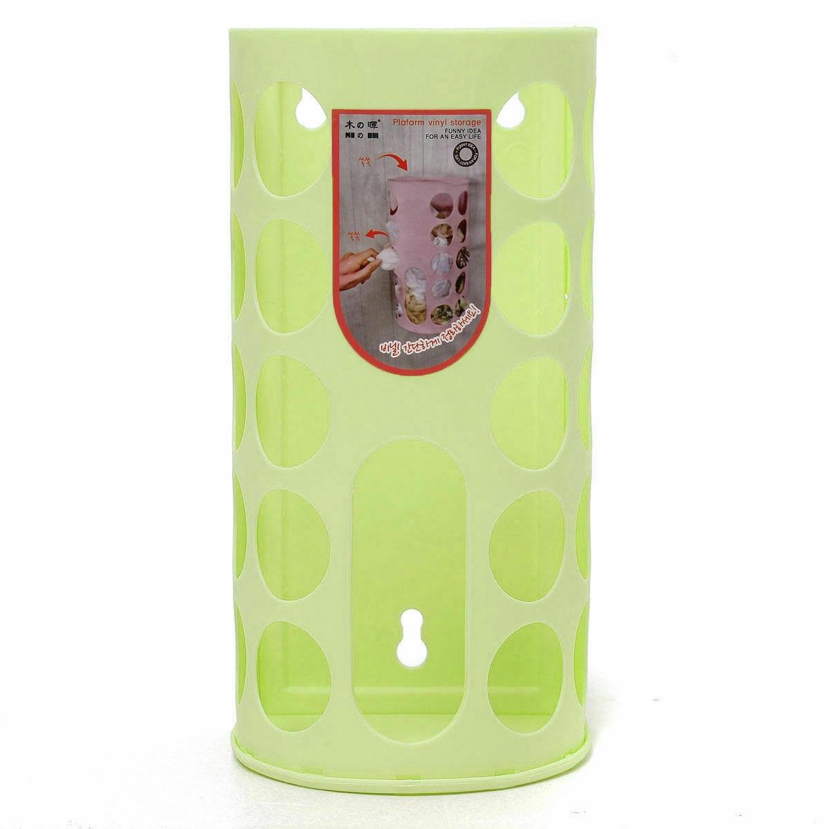 Пластиковый пакет настенный диспенсер монтируемый мешок для мусора корзина для хранения настенный ящик для хранения мусора для домашнего кухонного органайзера