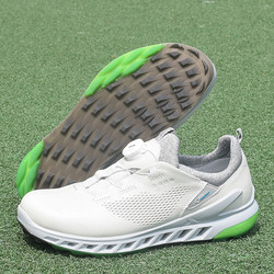 Mannen Echt Leer Golf Schoenen Merk Comfortabele Outdoor Golf Sport Training Sneakers Zwart Wit Professionele Spikeless Golfen