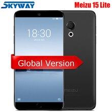 Meizu 15 Lite M15, 4G LTE, 4 ГБ, 32 ГБ/64 ГБ, Восьмиядерный процессор Snapdragon 626, экран 5,46 дюйма, 1920x1080 P, отпечаток пальца, быстрое зарядное устройство для мобильного телефона