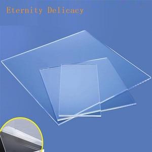 Transparent Plexiglass Sheet Clear Plexiglas Acrylic Plastic Sheet Thickness 1mm 1.5mm 2mm 2.5mm 3mm