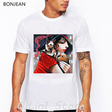 Elegant lady and her cat print vintage t shirt mens tshirt hipster streetwear summer clothes geek top tee shirt homme camiseta sexy lady and sphinx cat print vintage t shirt men summer tops tee shirt homme aesthetic clothes mens tshirt streetwear t shirt