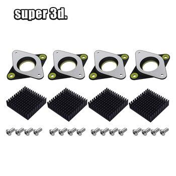 NEMA 17 42 Stepper Damper Meal & Rubber Stepper Motor Vibration Damper Imported genuine nema 17 shock absorber With Heat