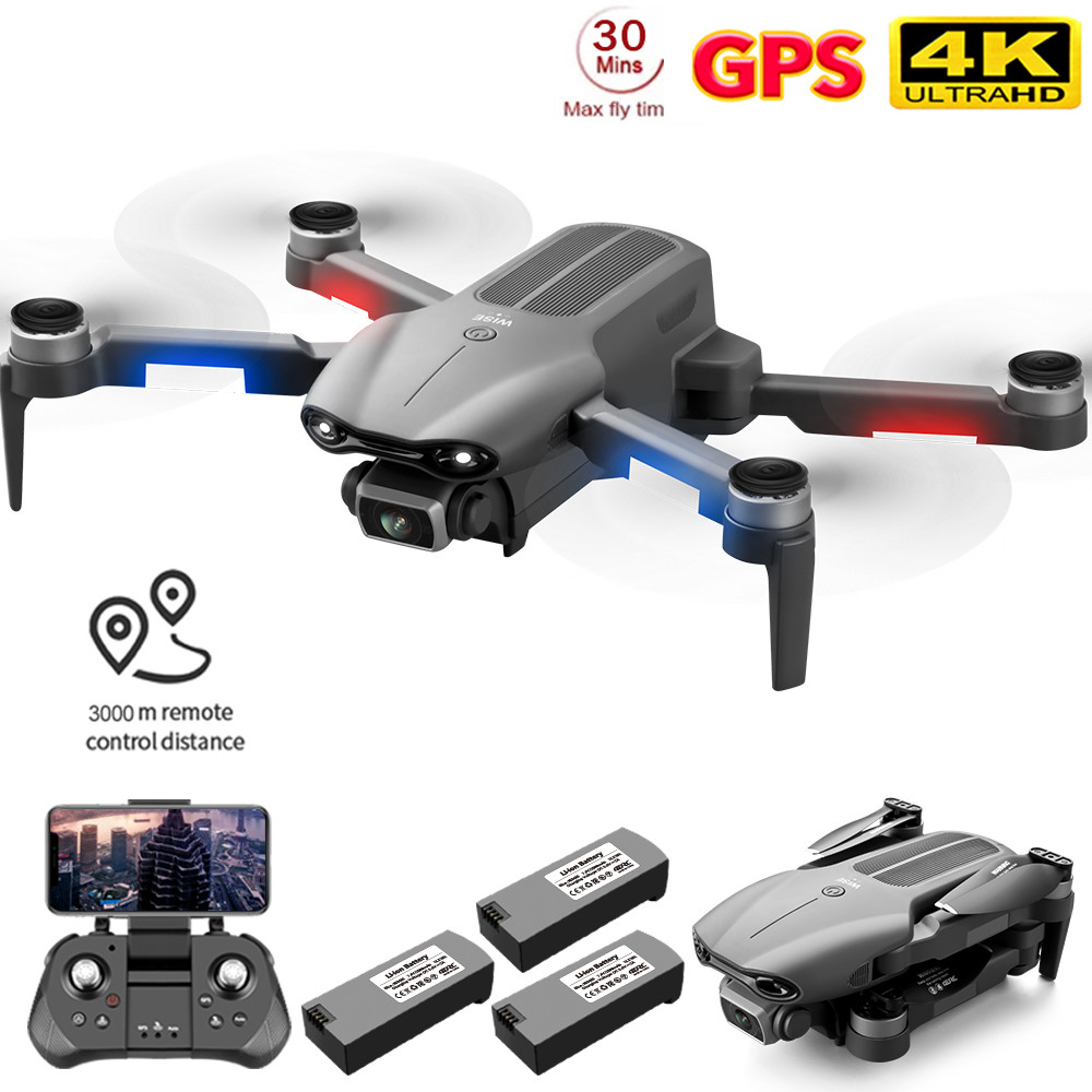2021 NEW F9 GPS Drone 4K Dual HD Camera Professional Aerial Photography Brushless Motor Foldable Quadcopter RC Distance1200M|RC Helicopters| - AliExpress