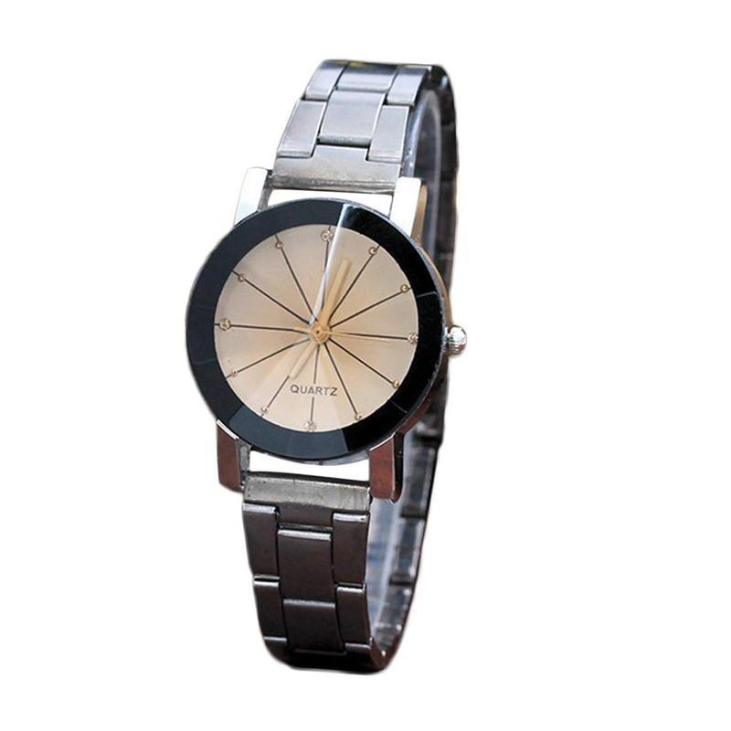 New Dial Couple Leather 2021 best-buy Elegant Quartz Watch