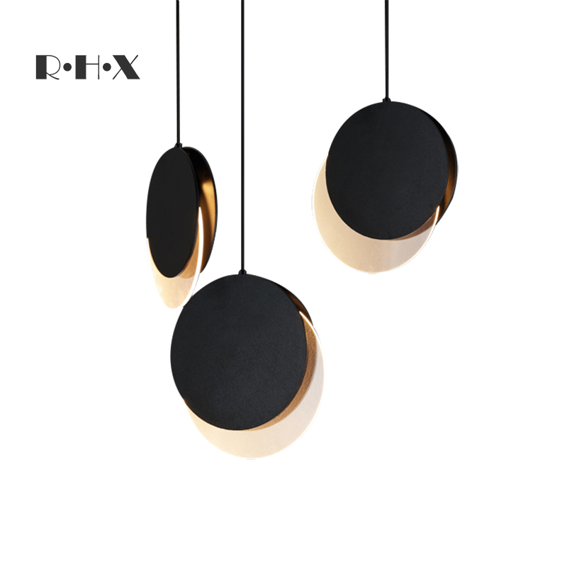 Nordic Industrial Lamp Deco Chambre Iron  Living Room   Restaurant  Luminaire Hanging Ceiling Lamps