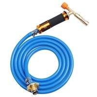 점화 액화 용접 가스 토치 구리 폭발 방지 호스 용접 도구 파이프 라인 에어컨