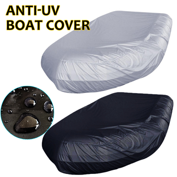 Waterproof UV Sun Dust Protection Inflatable Boat Dinghy Cover Tender Storage Suits 7.5-17ft 7 Sizes Kayak Rubber Boat Cover