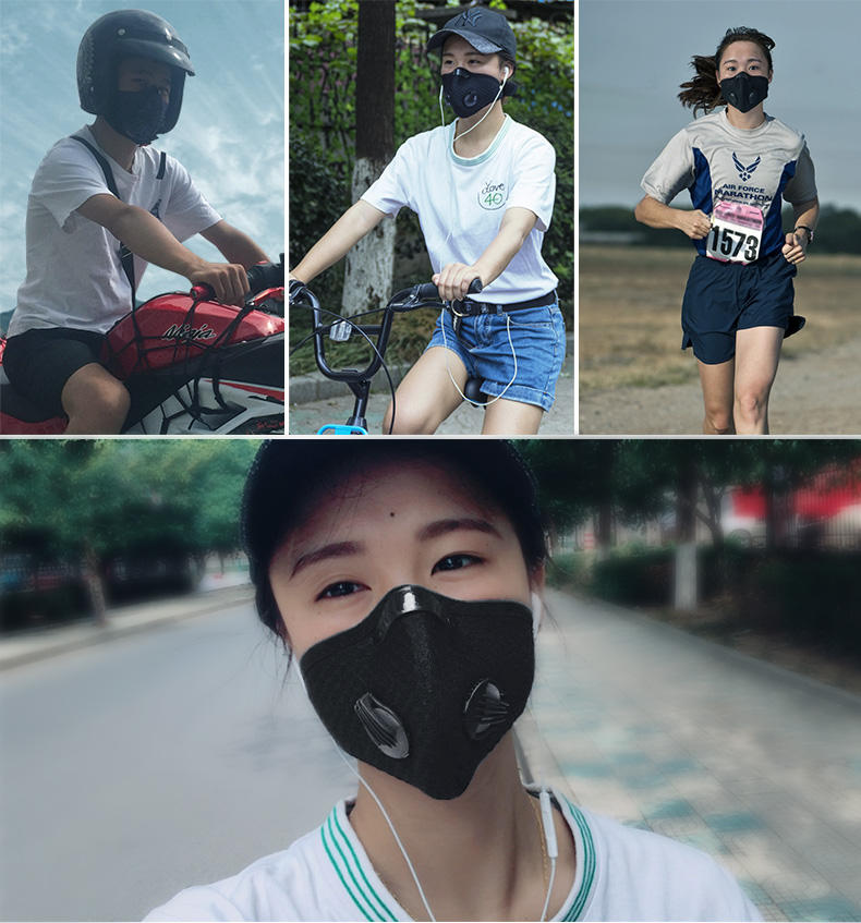 ROCKBROS PM2.5 Face Masks and Filters 16