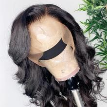 Onecut Wavy 360 lace frontal wig pre plucked with baby hair for black women brazilian Body Wave long lace front human hair wigs стоимость