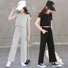 New Girls Clothing Sets Summer fashion  Baby Short Sleeve Shirt+Pants 2 Pcs Outfits Kids Cotton Outwear Children Girl Clothes little girls clothing set kids winter clothes 3 pcs baby girls suits fashion 2018 warm children sets for girl boutique outfits