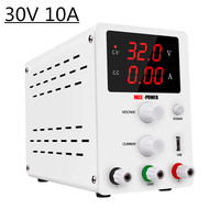 30V 10A High precision LED Display Dc Laboratory Adjustable Power Supply Digital Transformers Current Stabilizer