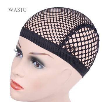 Top Sale Hairnets good Quality Mesh Weaving Black Wig Hair Net Making Caps Cap - sale item Hair Tools & Accessories
