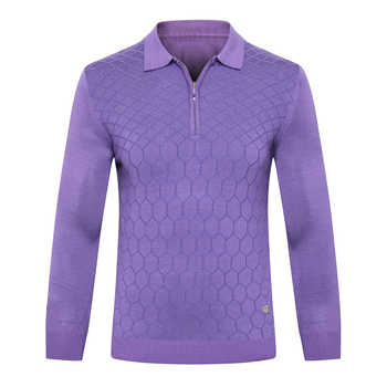 Billionaire sweater wool men\'s 2019 New Fashion zipper comfort printing designed high quality gentleman big M-5XL free shipping