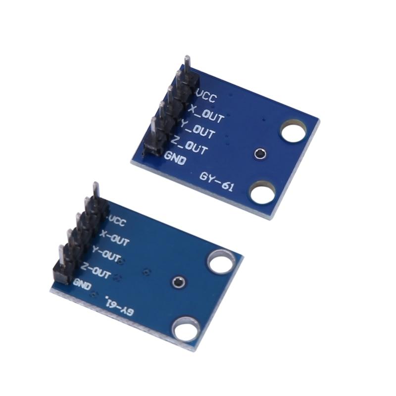 GY-61 ADXL335 Accelerometer 3-Axis Analog Output Accelerometer Module Angular Transducer 3V-5V