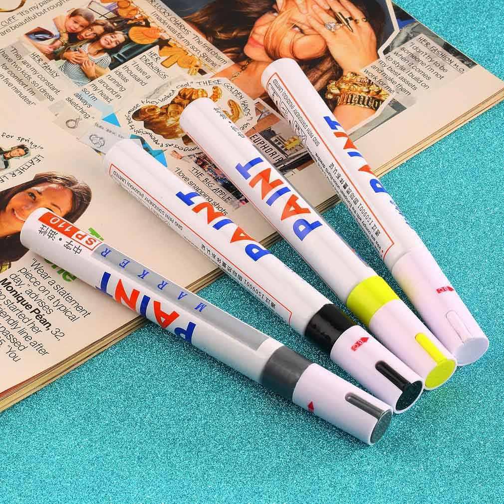 Alta qualidade e venda quente universal tinta de borracha marcador caneta permanente carro motocicleta pneu piso
