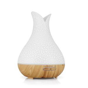 Image 5 - KBAYBO 400ml di Aria umidificatore aromaterapia aroma diffusore di olio crackle mist fogger del creatore della foschia 7 variopinta di notte del LED per la luce di casa ufficio